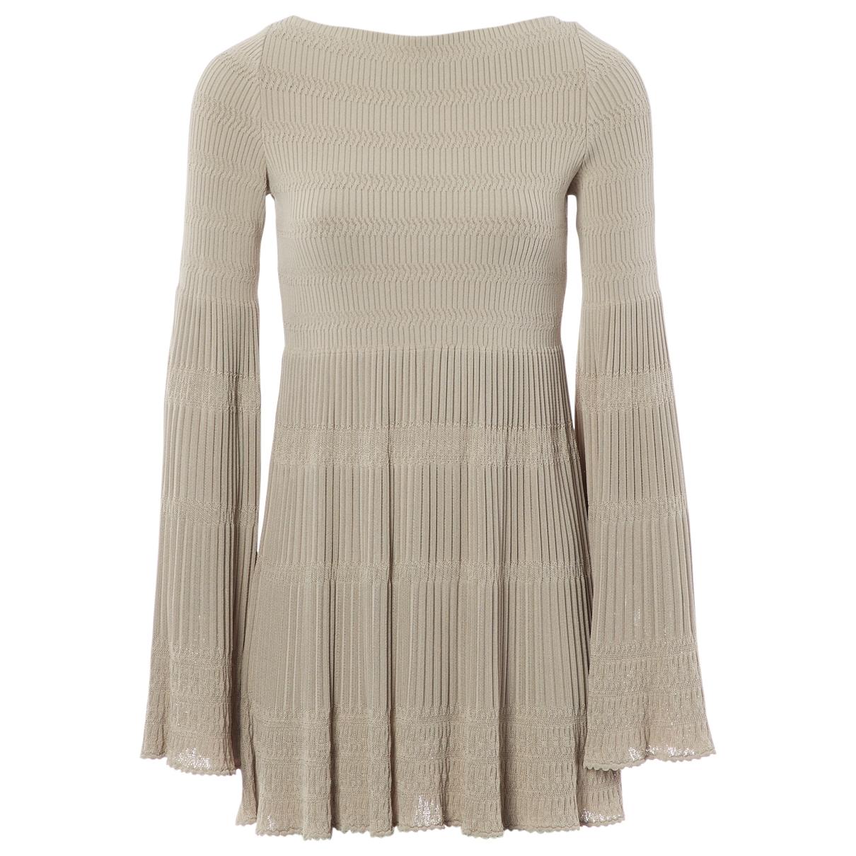Mini vestido Alaia