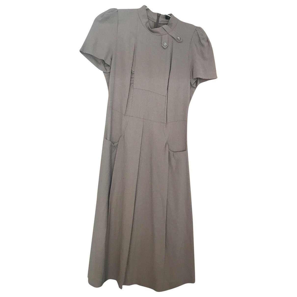 Tara Jarmon \N Kleid in  Rosa Viskose