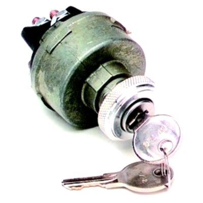 Painless Wiring Ignition Switch (Non-Polished) - 80153