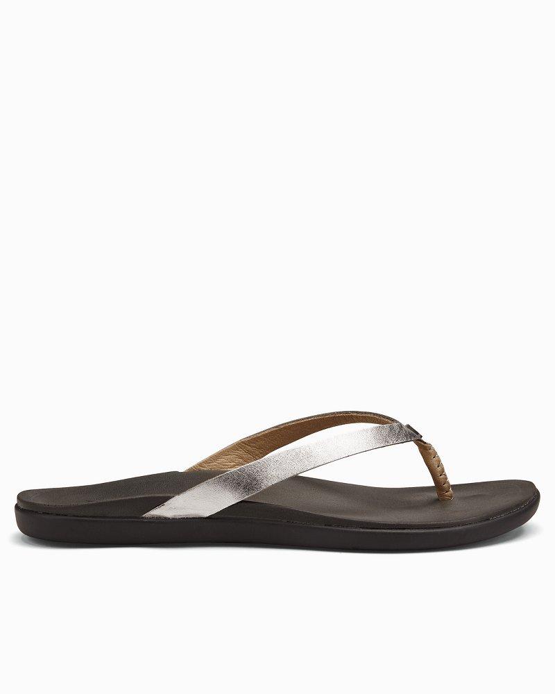 Women's OluKai® Ho'ōpio Leather Sandals