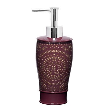 Popular Bath Rescade Soap/Lotion Dispenser, One Size , Red