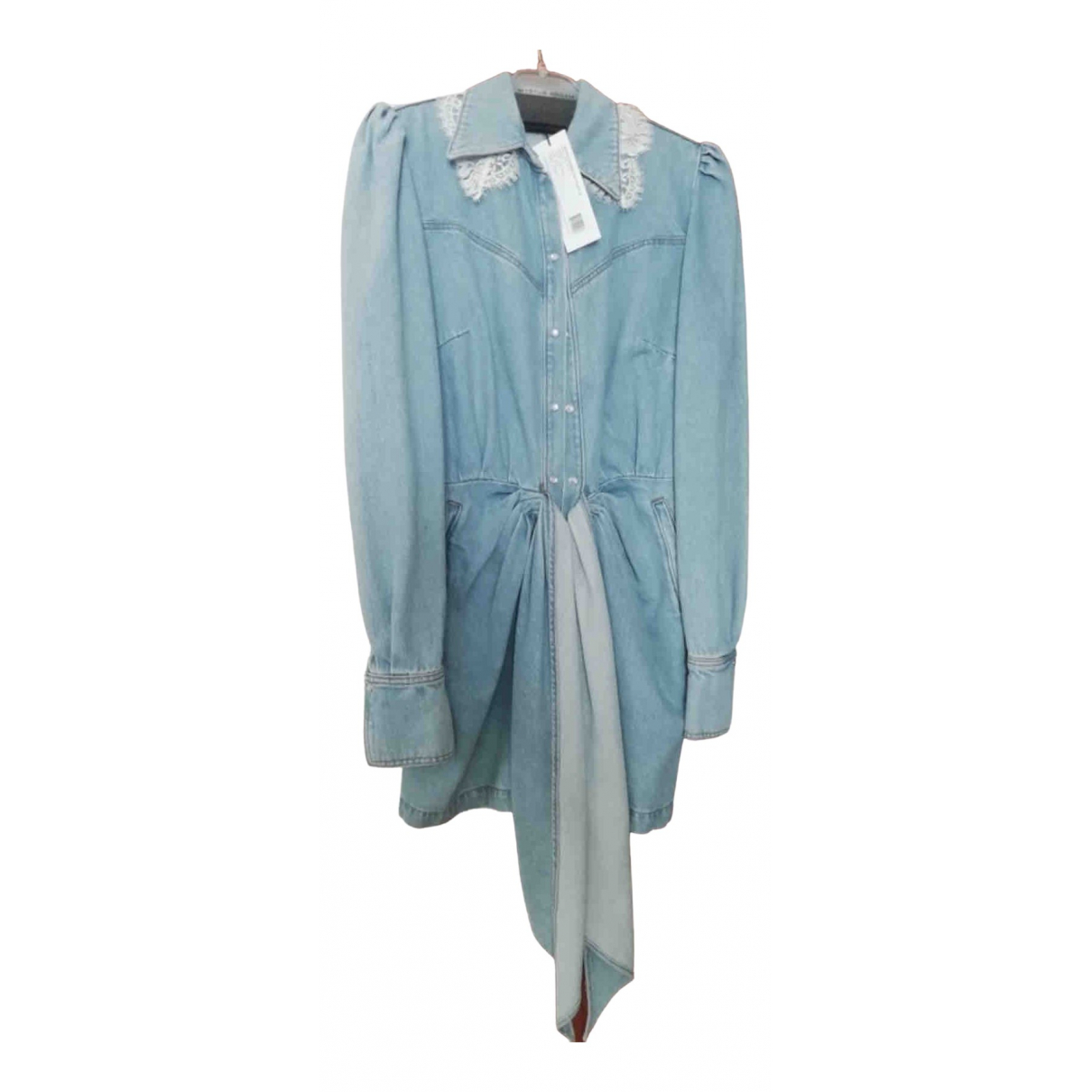 Magda Butrym \N Kleid in  Blau Baumwolle
