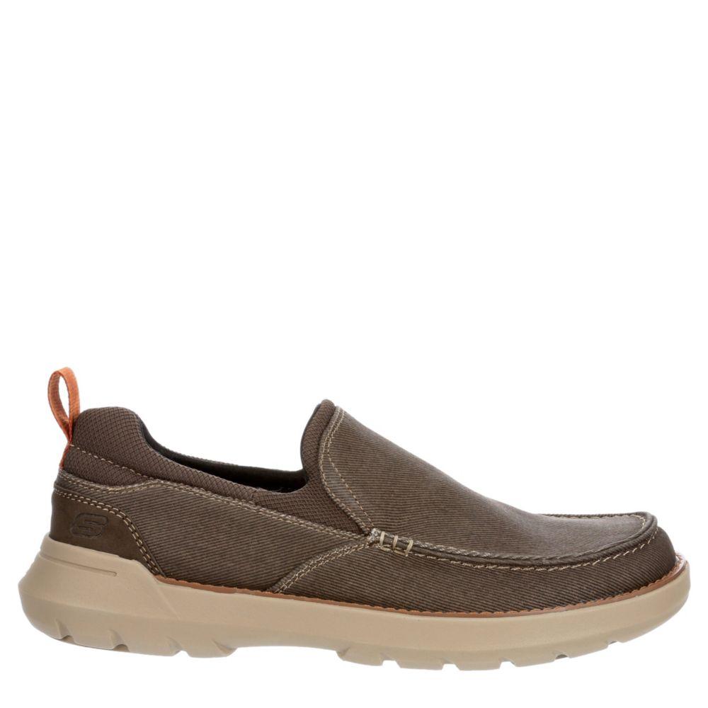 Skechers Mens Doveno-Hangout Canvas Shoes