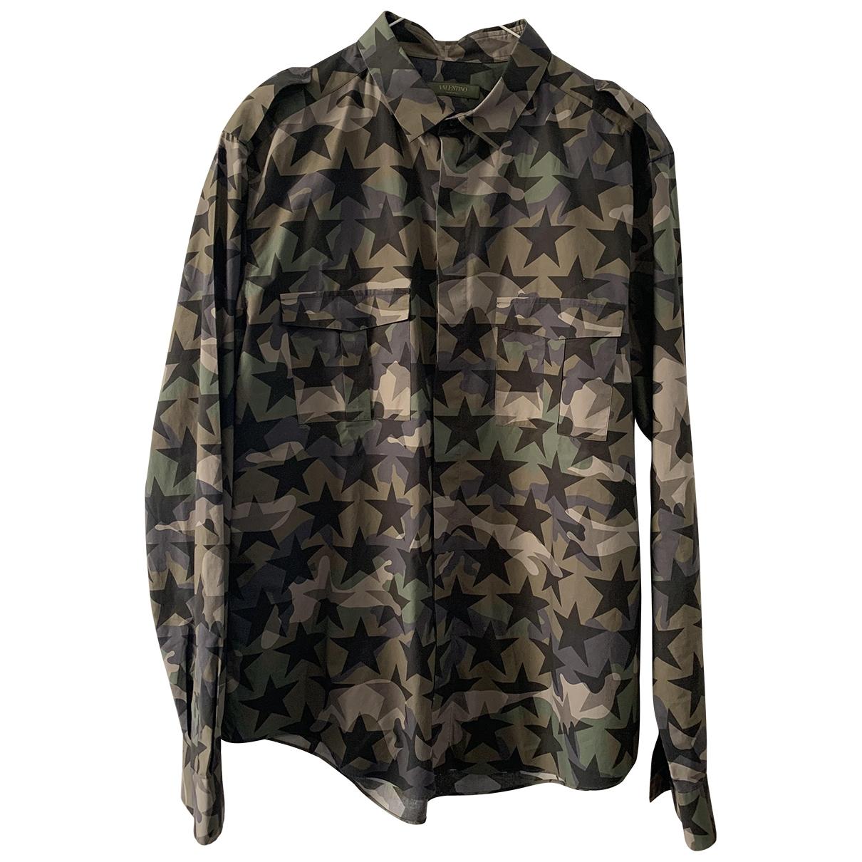 Valentino Garavani \N Hemden in  Gruen Baumwolle