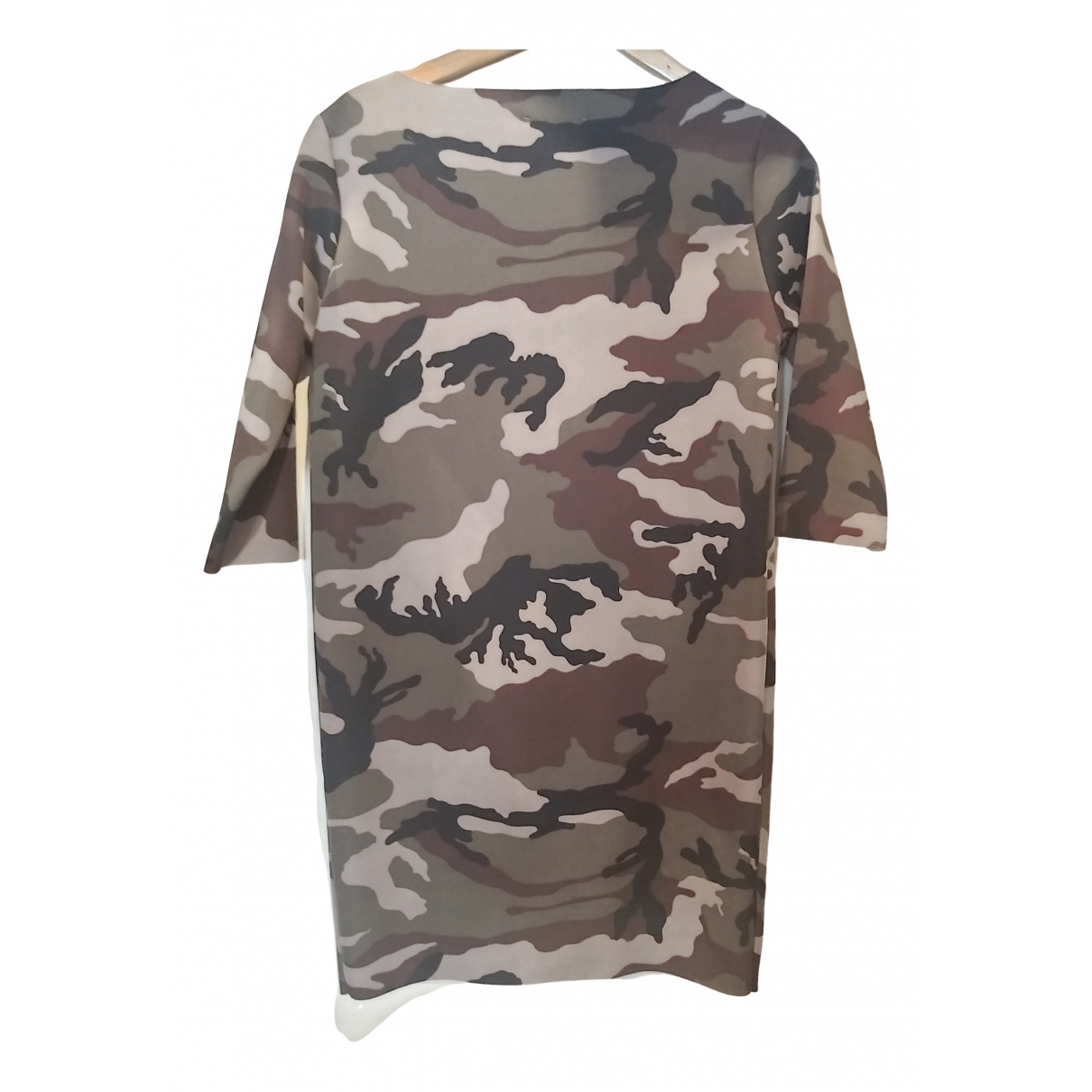 Vicolo \N Kleid in  Khaki Polyester