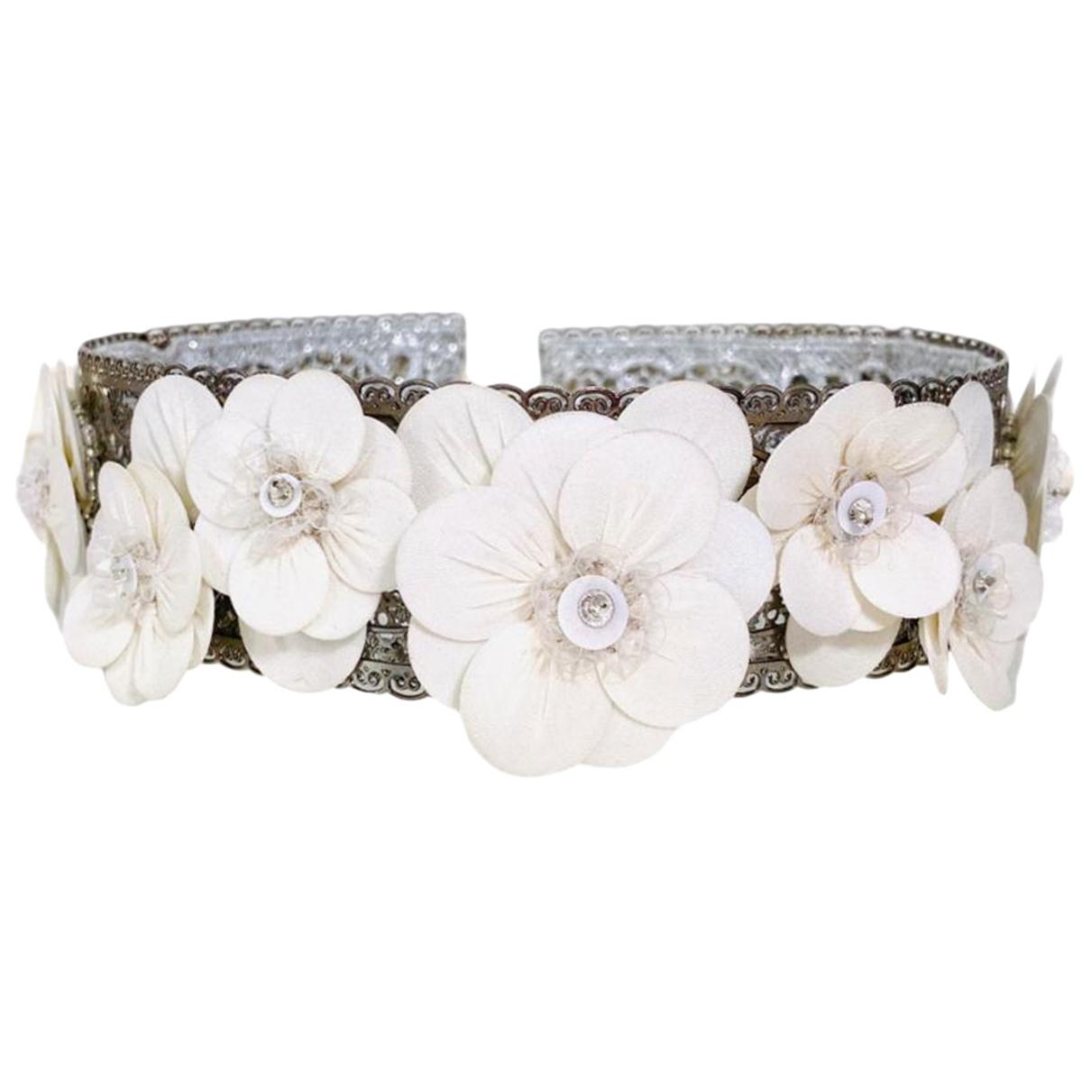Dolce & Gabbana \N Haarschmuck in  Weiss Metall