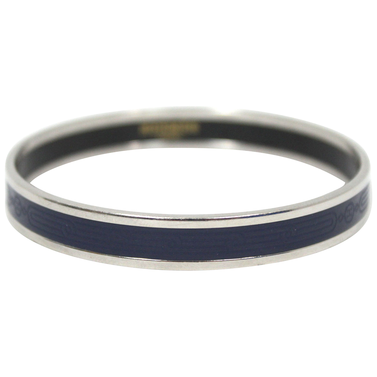 Hermes - Bracelet   pour femme en metal - marine