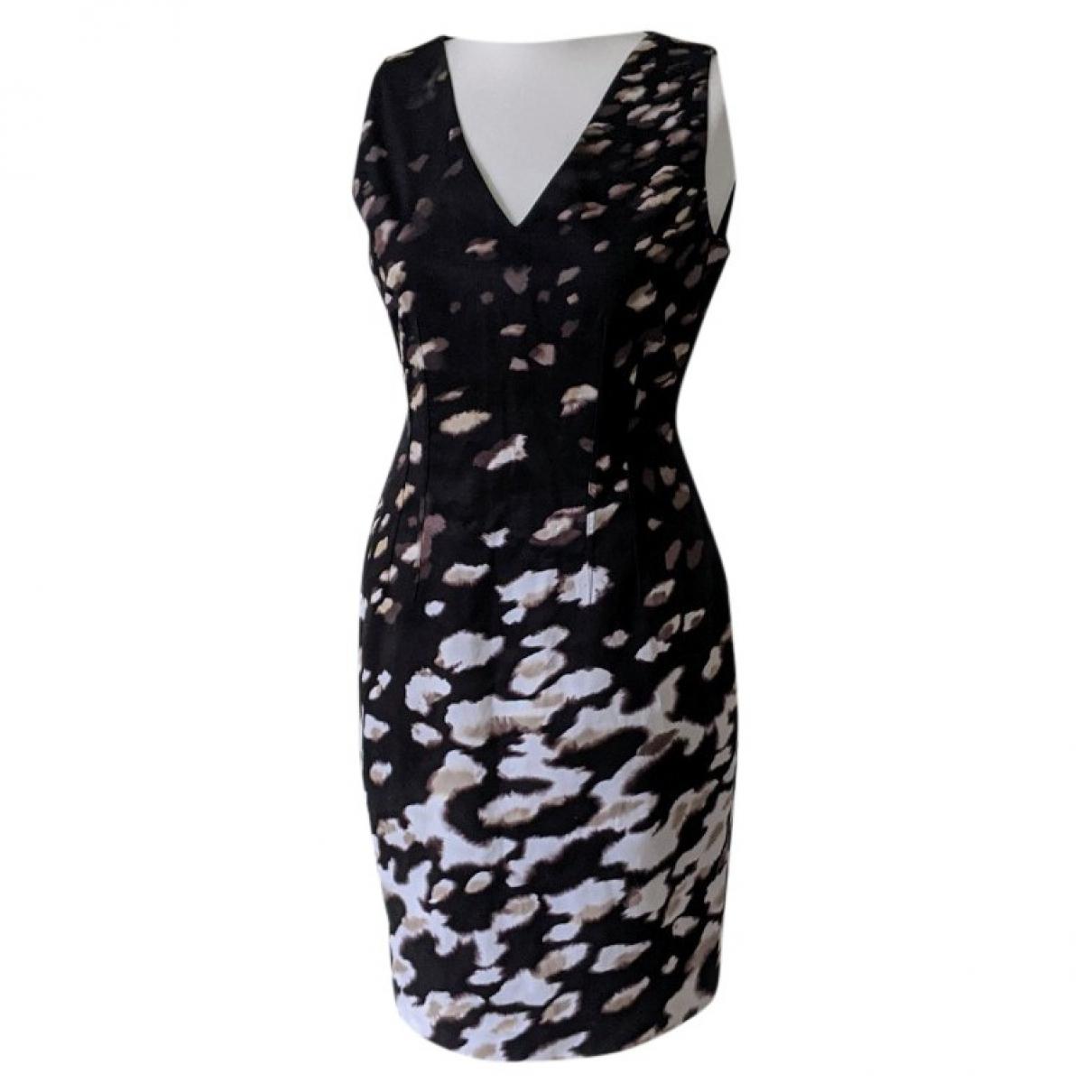 Elie Tahari \N Multicolour Cotton - elasthane dress for Women 12 UK