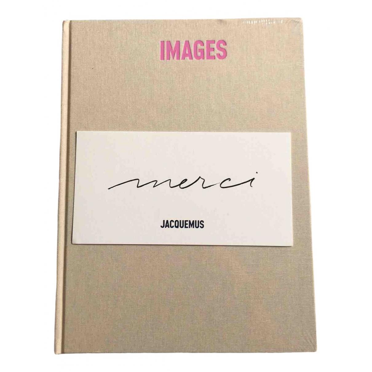 Jacquemus - Photographie   pour lifestyle en coton - beige