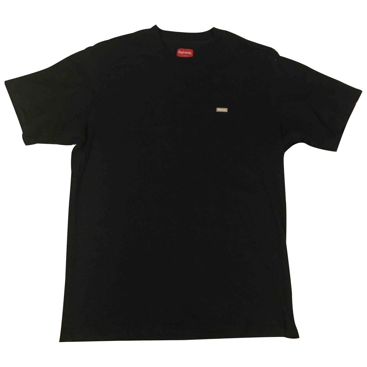 Supreme \N T-Shirts in  Marine Baumwolle