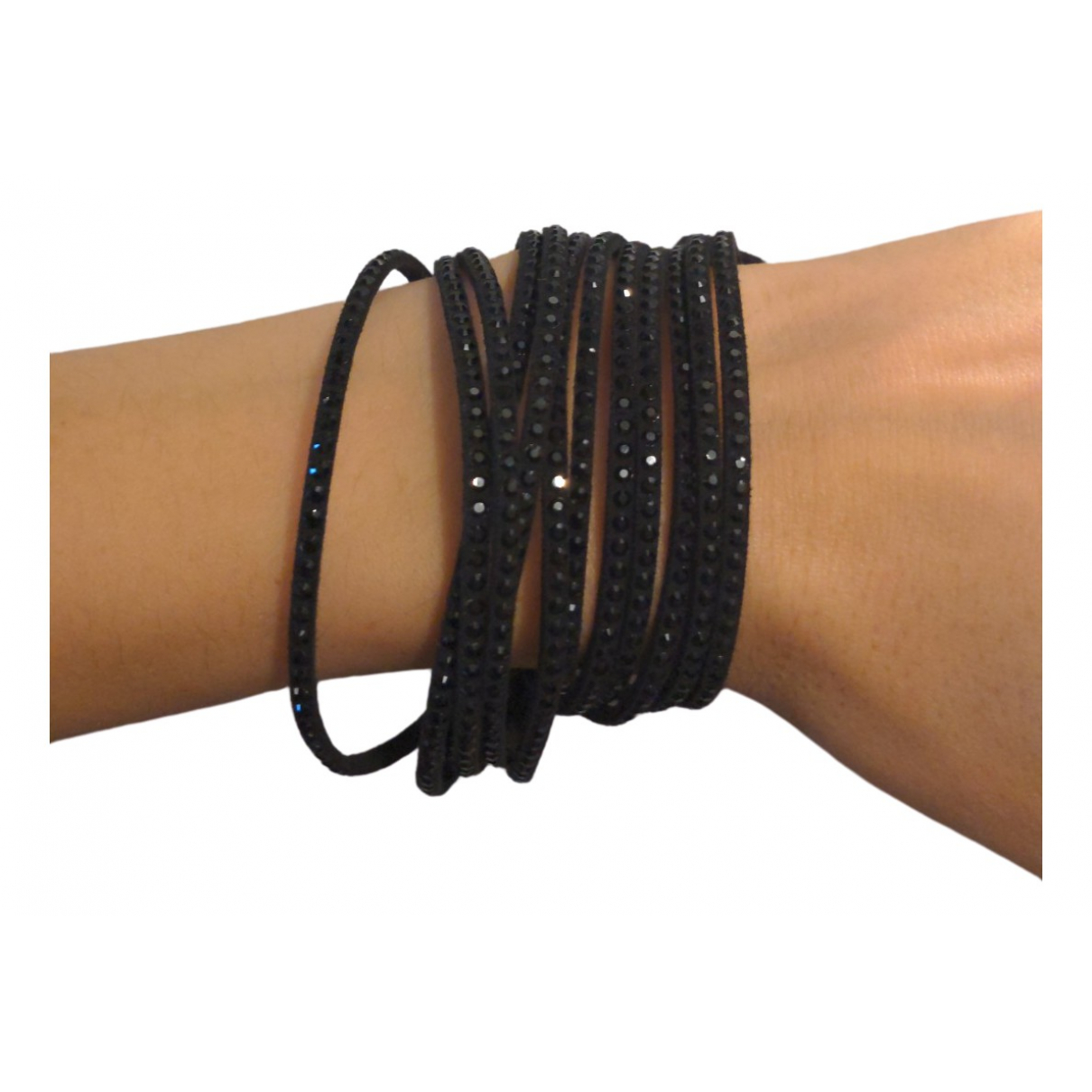 Swarovski Slake Black Crystal bracelet for Women \N