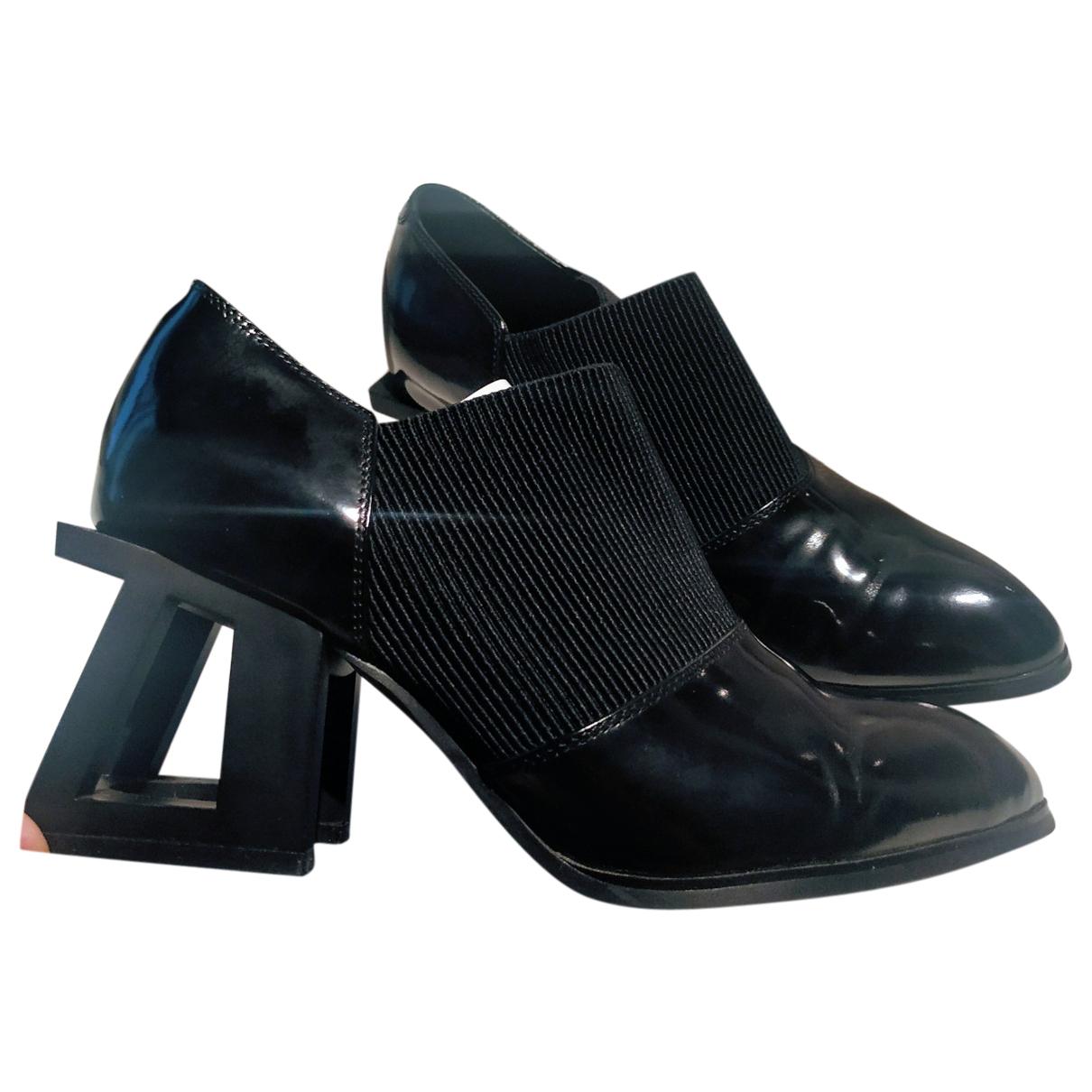 Jeffrey Campbell - Escarpins   pour femme en cuir - noir