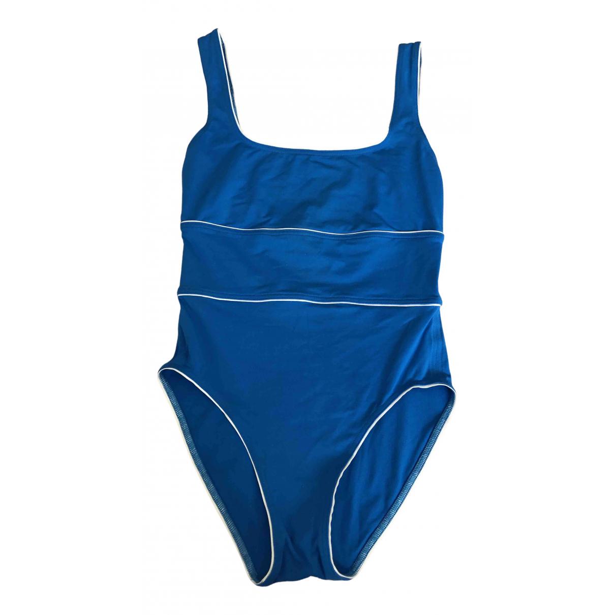 Eres \N Badeanzug in  Blau Lycra
