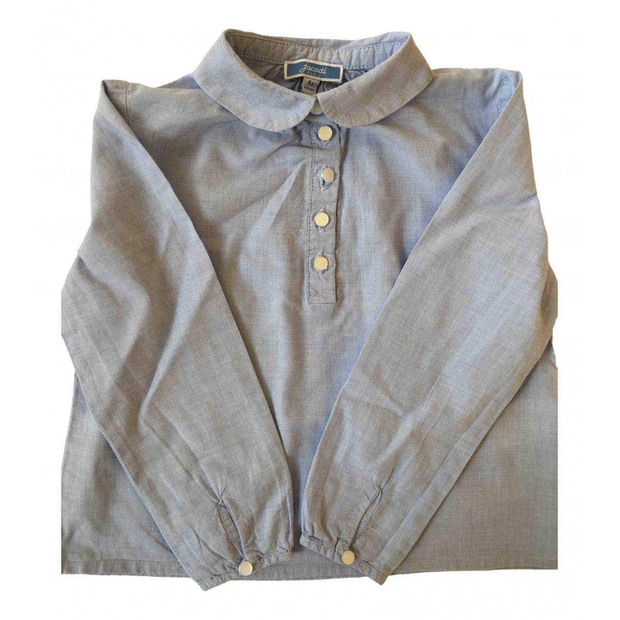 Jacadi - Top   pour enfant en coton - bleu