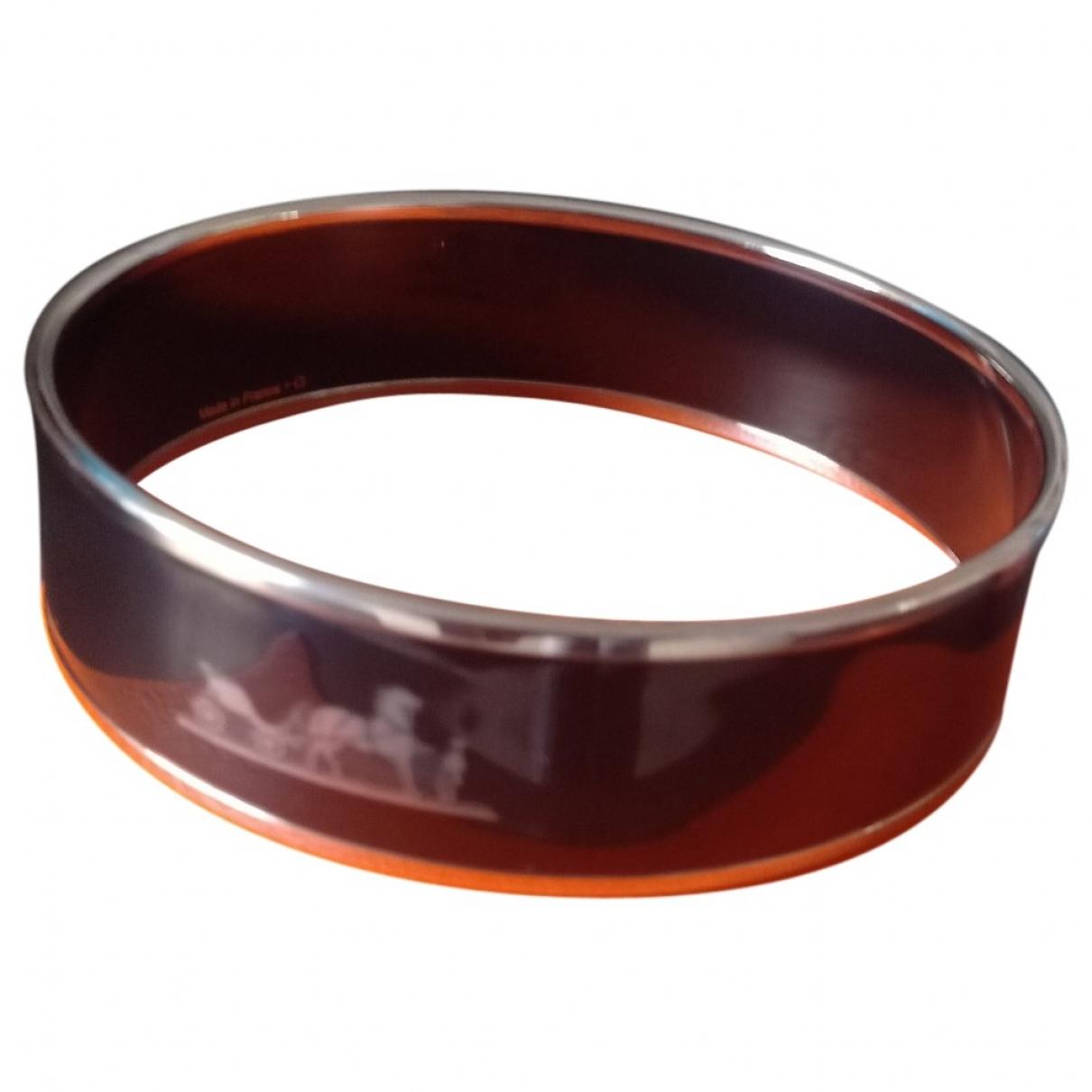 Hermes - Bracelet Bracelet Email pour femme en metal - noir