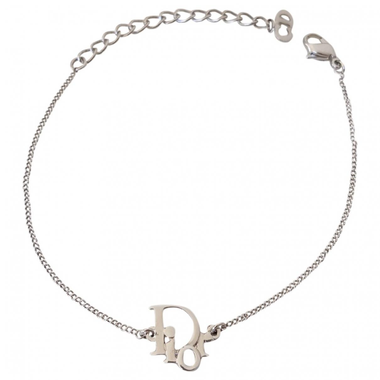 Dior Dior Oblique Silver Metal bracelet for Women \N