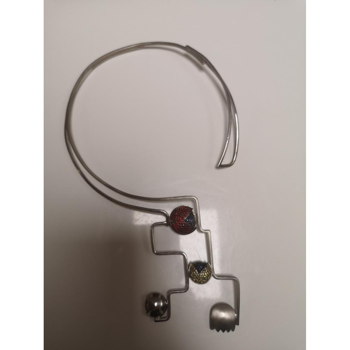 Non Signe / Unsigned \N Kette in Silber