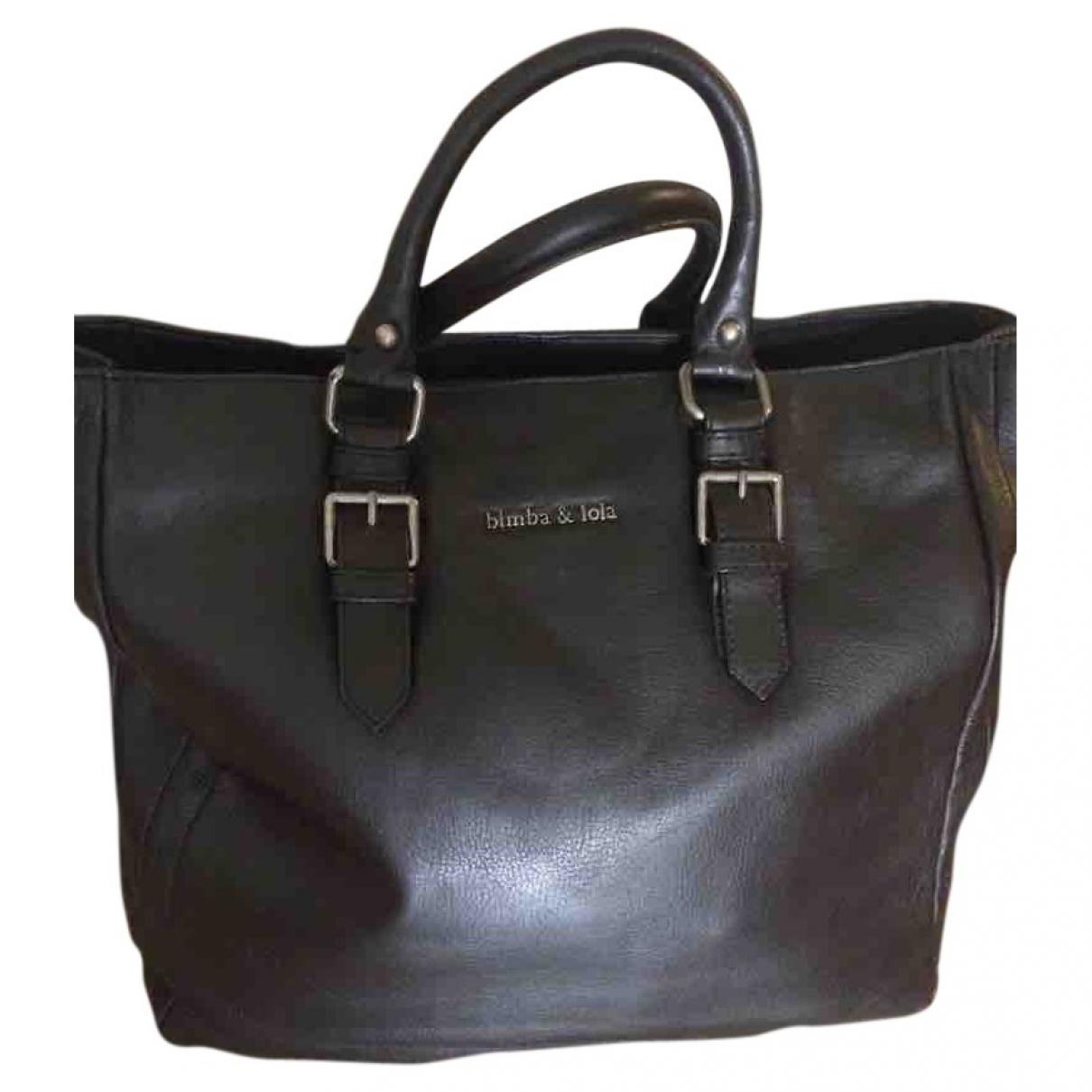 Bimba Y Lola \N Handtasche in  Braun Leder
