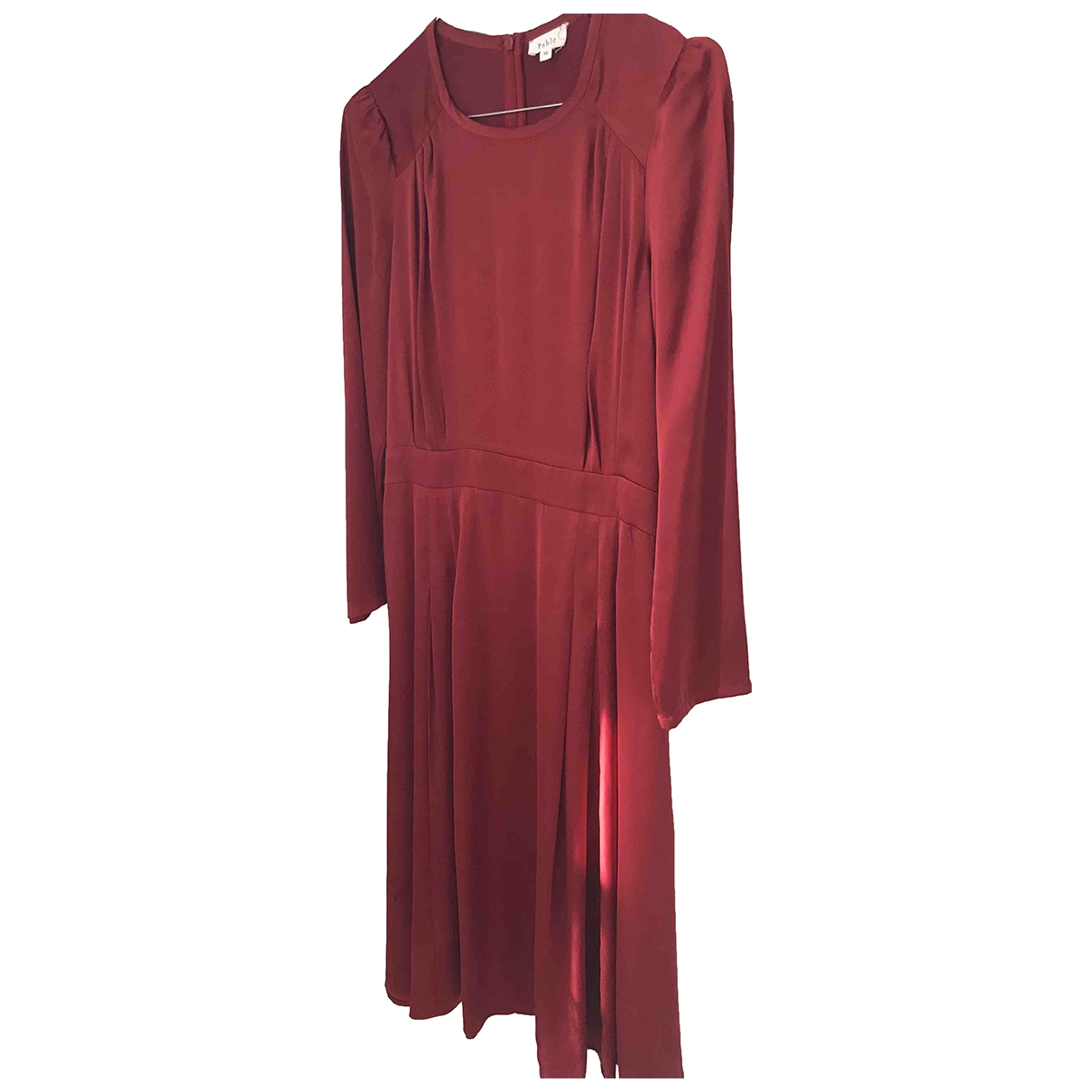 Pablo \N Kleid in  Bordeauxrot Polyester