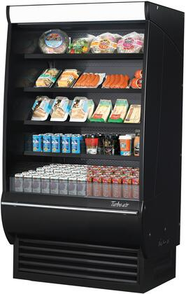 TOM-36DXB-SP-A-N 36 Extra Deep Vertical Open Display Merchandiser with 11 cu. ft. Capacity  Self-Cleaning Condenser  Hydrocarbon Refrigerants and