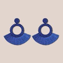 Pendientes Azul Bohemio