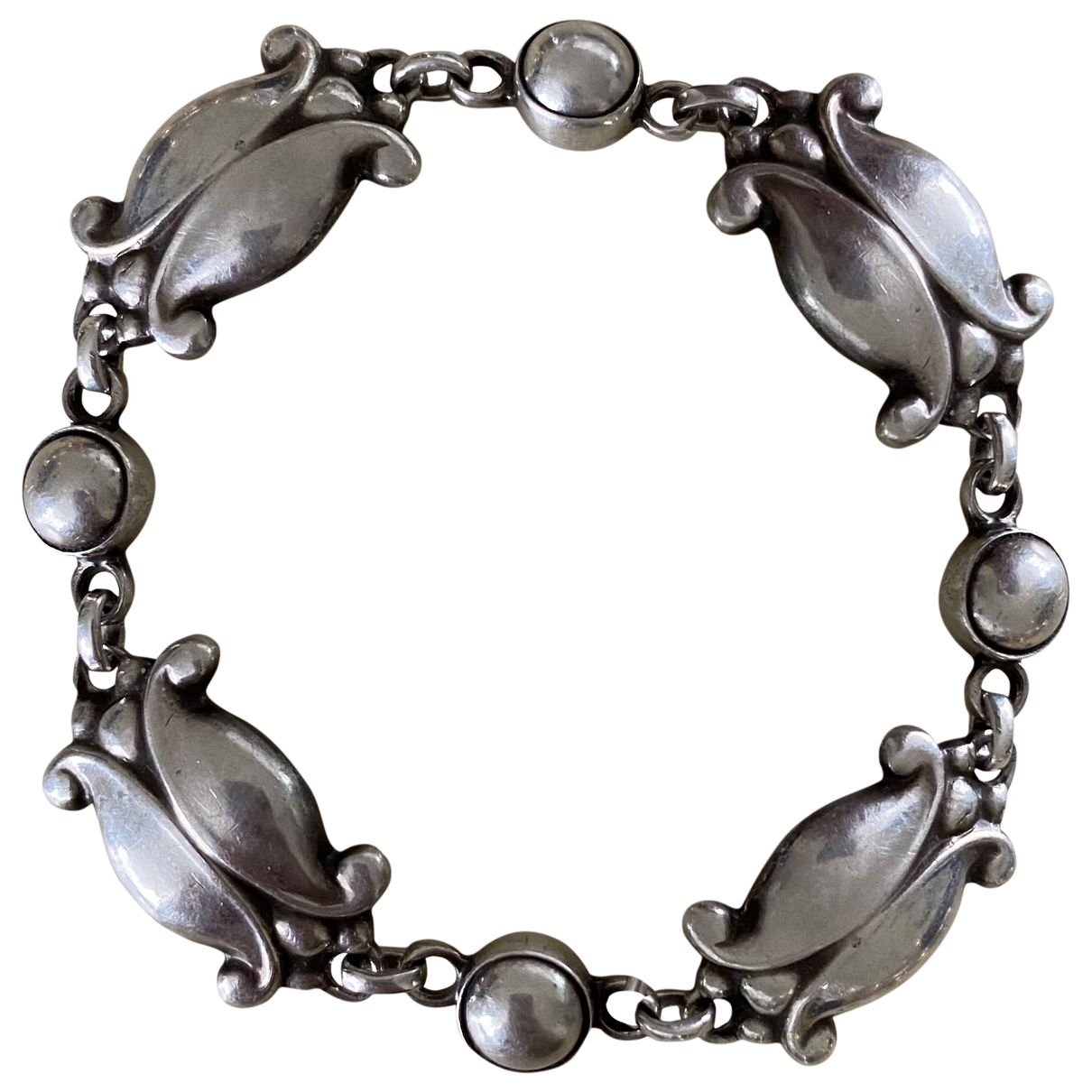 Georg Jensen \N Armband in  Silber Silber
