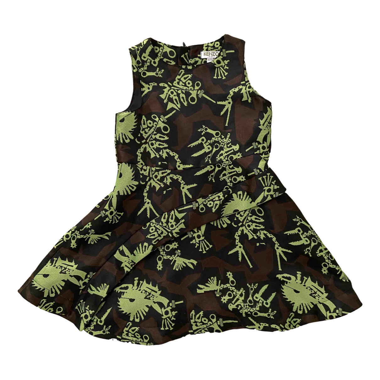 Kenzo \N Black Cotton dress for Kids 4 years - up to 102cm FR