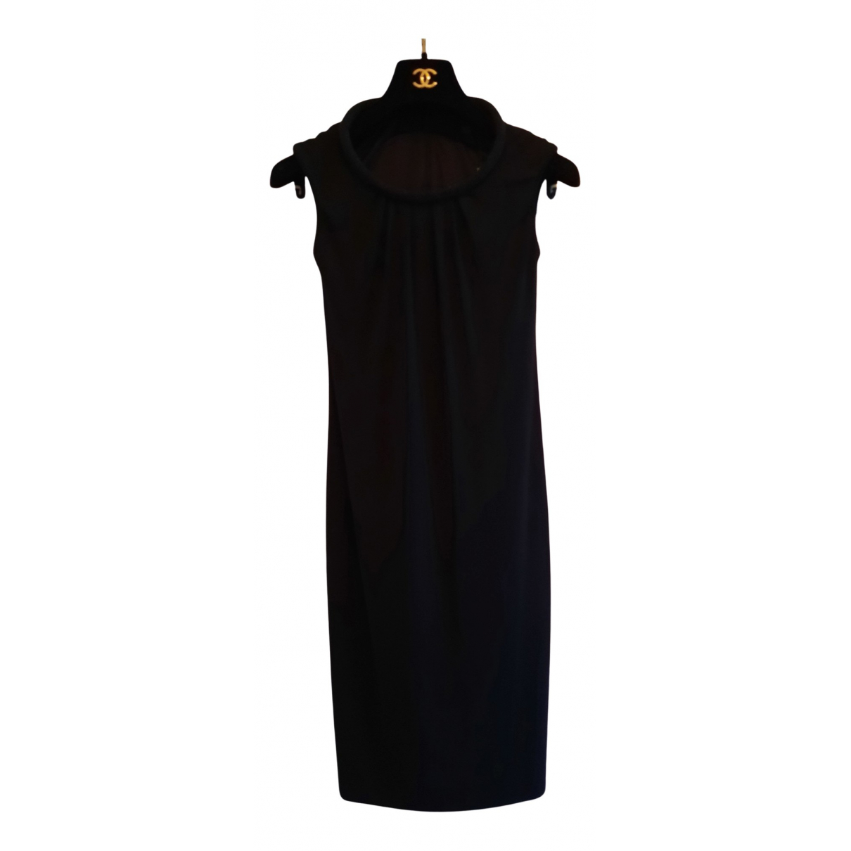 Burberry \N Kleid in  Schwarz Viskose