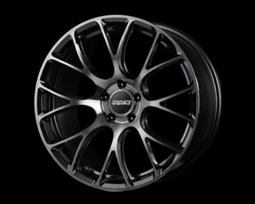 Volk Racing WKG16243EMN G16 BC/C Wheel 19x8.5 5x114.3 43mm MM/Black Clear