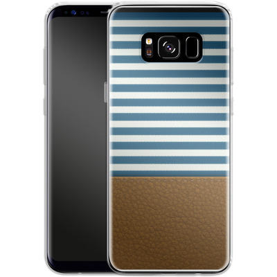 Samsung Galaxy S8 Silikon Handyhuelle - Nautical von caseable Designs