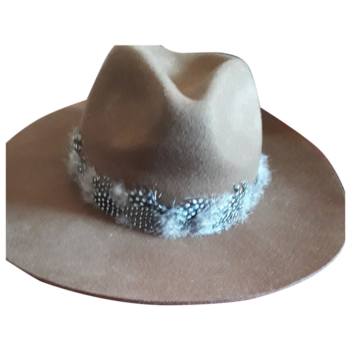 Zara N Brown Suede hat for Women M International