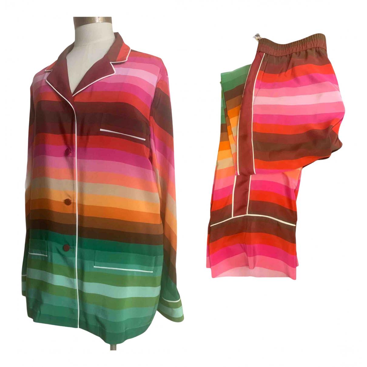 Valentino Garavani N Multicolour Silk jumpsuit for Women 42 IT