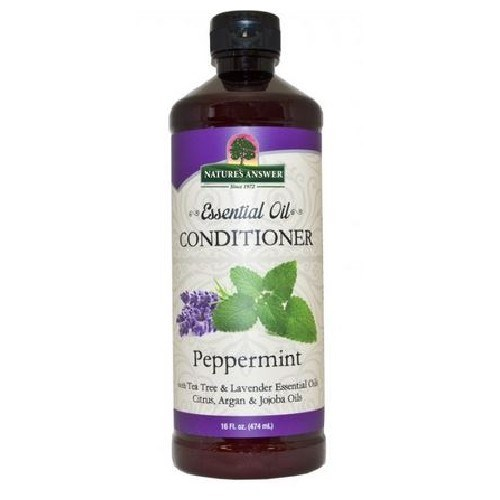 Essential Oil Conditioner Peppermint 16 Oz by Nature's Answer