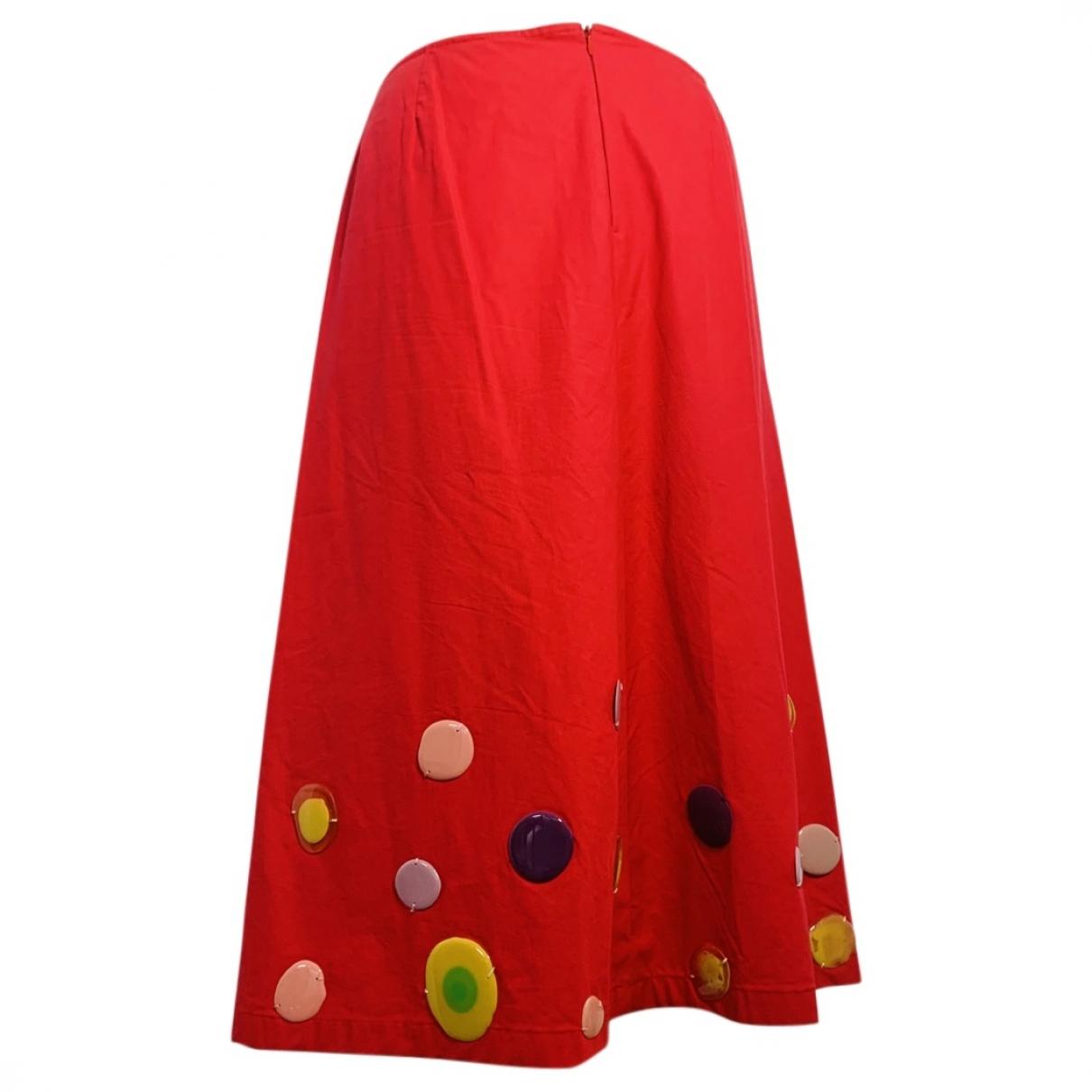 Marni \N Multicolour Cotton skirt for Women 42 IT