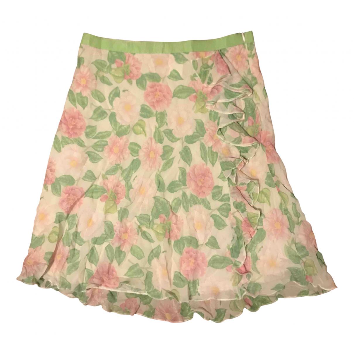 Blumarine \N Multicolour Silk skirt for Women 42 IT