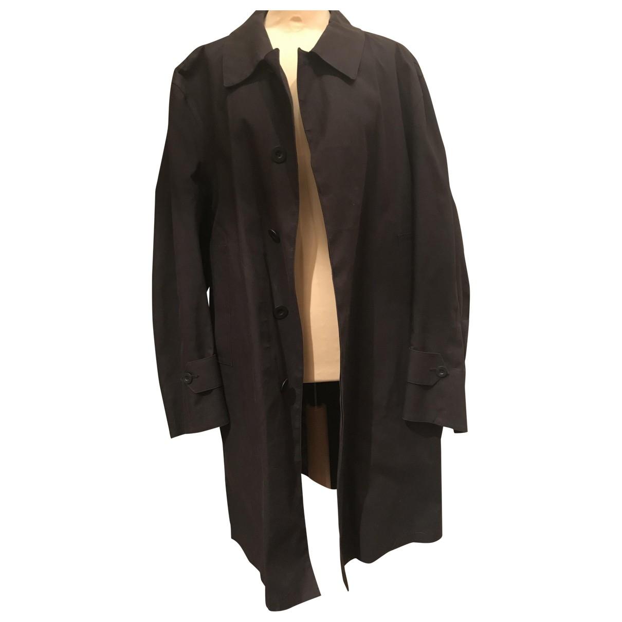 Louis Vuitton - Manteau   pour homme en coton - noir