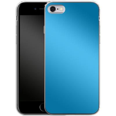 Apple iPhone 6 Silikon Handyhuelle - Test Cyan von caseable Designs