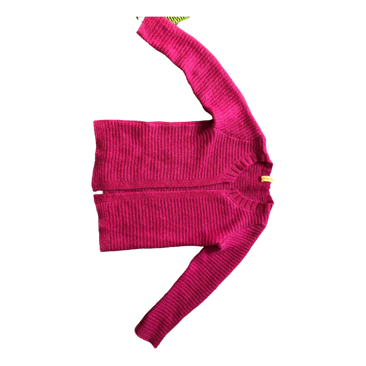 Non Signé / Unsigned \N Pink Wool Knitwear for Women S International