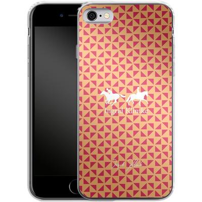 Apple iPhone 6s Silikon Handyhuelle - Triangle Silhouette von Ingrid Klimke