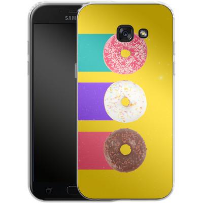 Samsung Galaxy A5 (2017) Silikon Handyhuelle - Donuts von Danny Ivan