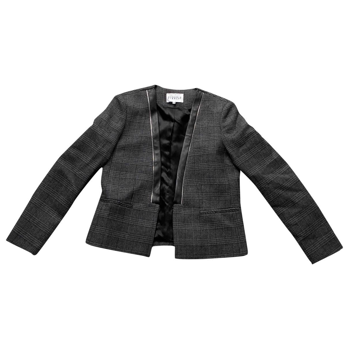 Claudie Pierlot \N Grey jacket for Women 40 FR