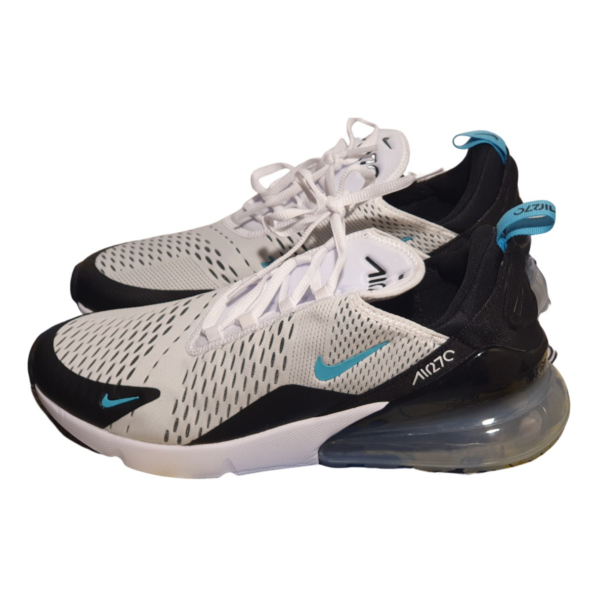 Nike Air Max 270  Sneakers in  Weiss Polyester