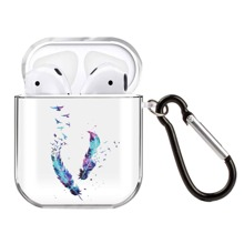 Feather Print Airpod Case