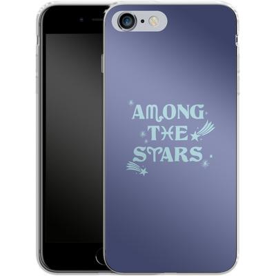Apple iPhone 6s Plus Silikon Handyhuelle - Among The Stars von caseable Designs