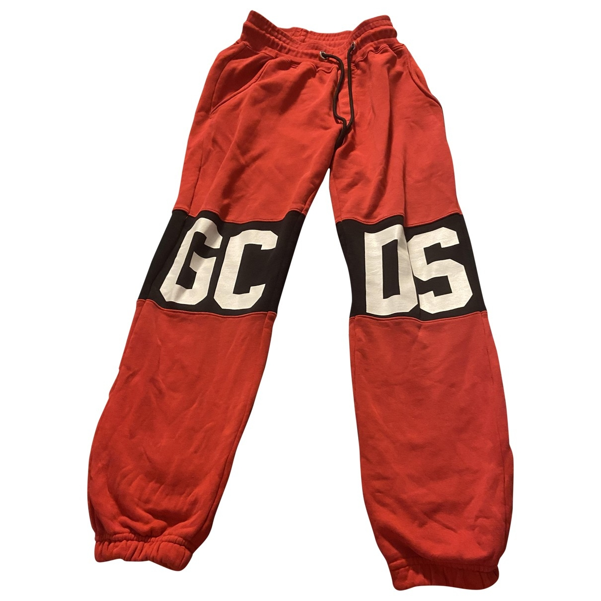 Gcds \N Red Cotton Trousers for Men M International