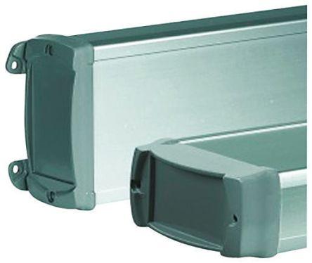 Bopla BOS-Ecoline, Grey Aluminium Enclosure, IP40, Flanged, 150 x 120 x 42mm