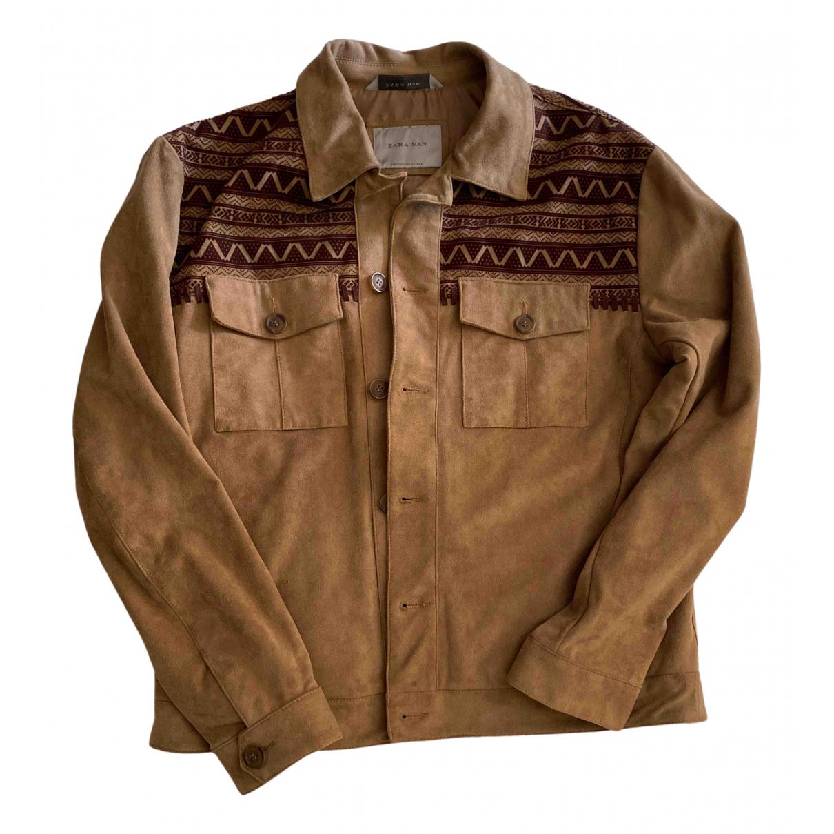 Zara \N Camel jacket  for Men L International