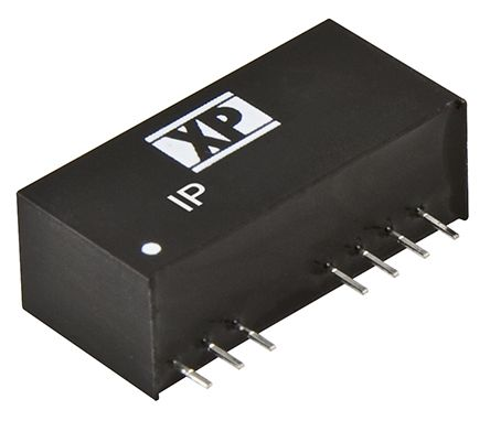XP Power IP 3W Isolated DC-DC Converter Through Hole, Voltage in 18 → 75 V dc, Voltage out ±12V dc