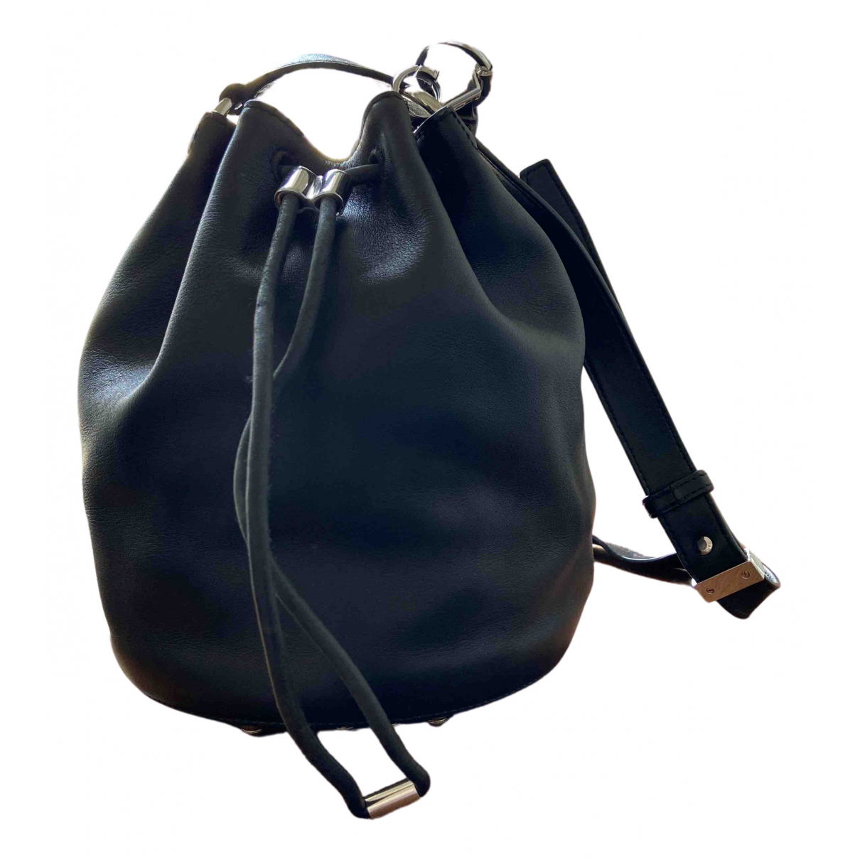 Alexander Wang N Black Leather handbag for Women N