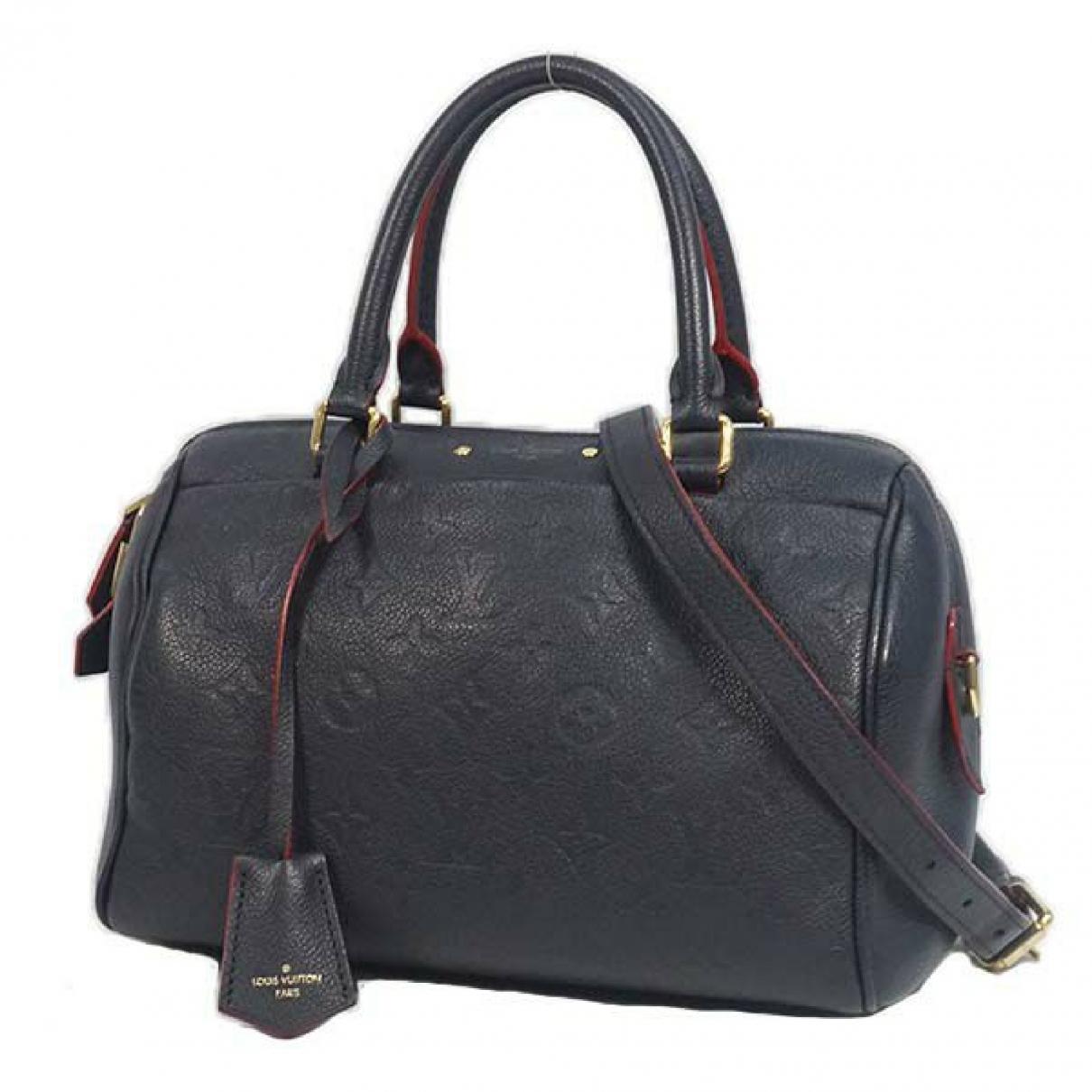Louis Vuitton Speedy Red Cloth handbag for Women \N